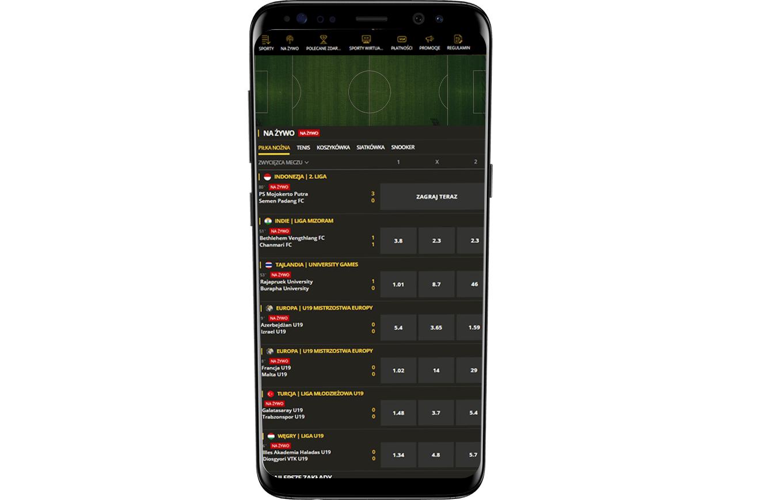LVBET aplikacja na Android i iOS